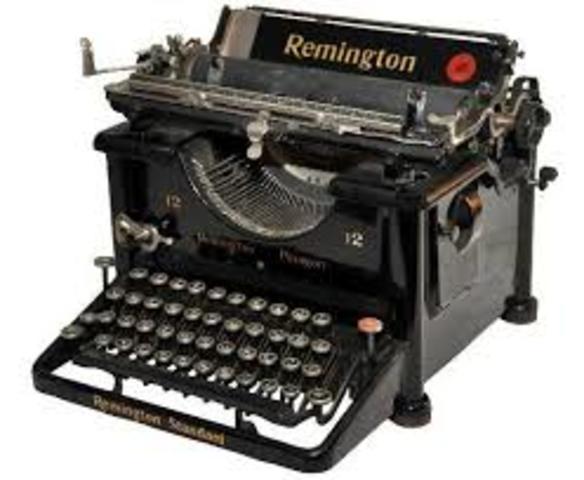 Máquina de escribir de Remington