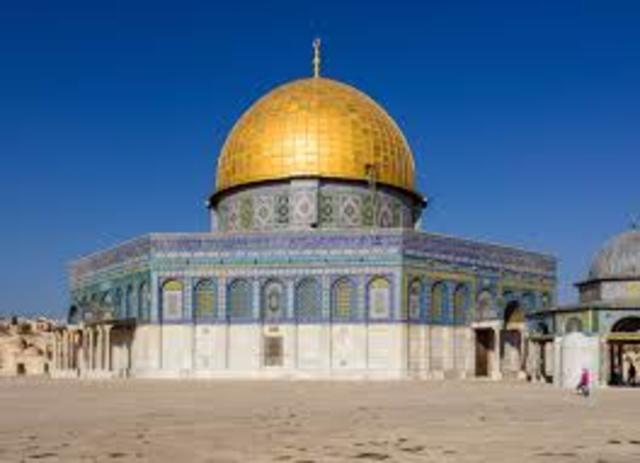 Dome of Rock was built