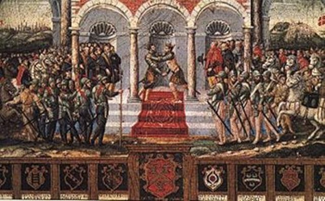Tratado de paz de Cateau-Cambresis con Francia (1559)