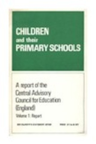 1967 The Plowden Report