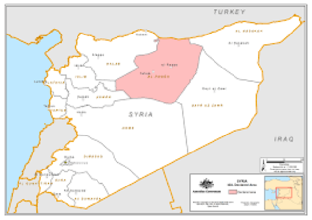 Moves Court and Government to Ar-Raqqa