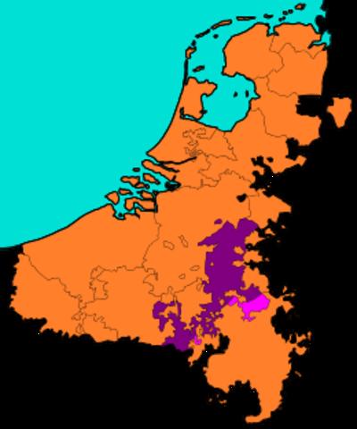 Levantamiento Belga contra los paises bajos