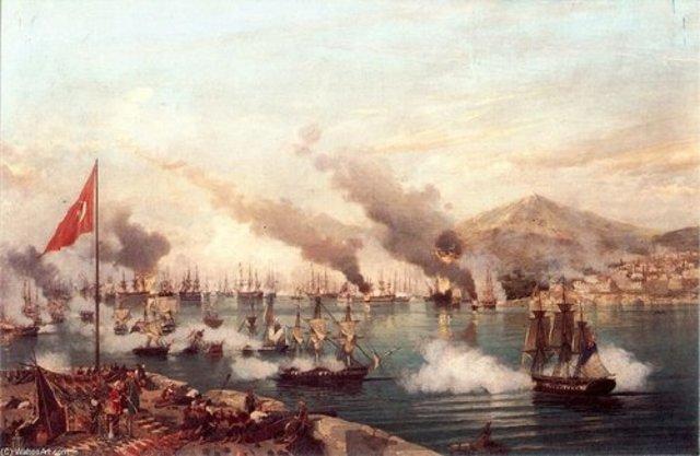 Sublebación de los griegos contra el Imperio Otomano
