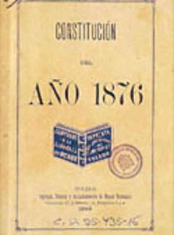Constitución 1876