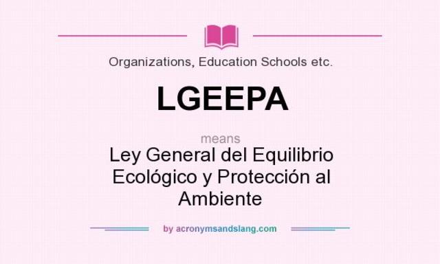 LEGEPA. Derecho Social