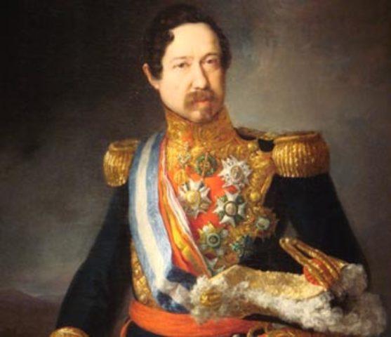 Nuevo gobierno moderado de Narváez