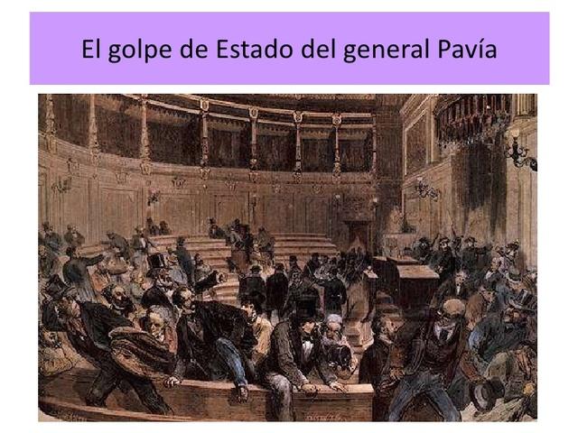 Golpe de estado del General Pavía