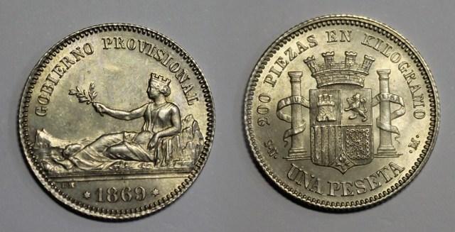 La peseta, unidad monetaria española