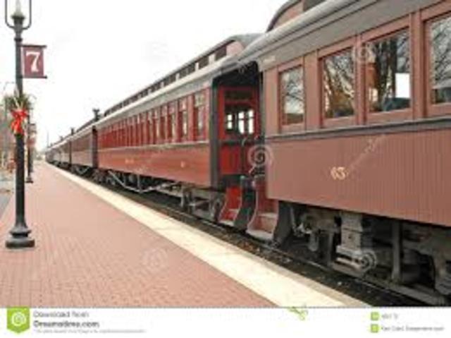 1ª linea ferroviaria de pasajeros