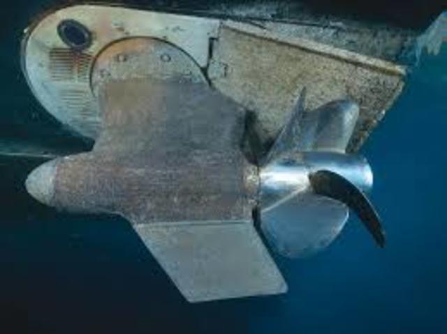 Cascos y hélices de barcos
