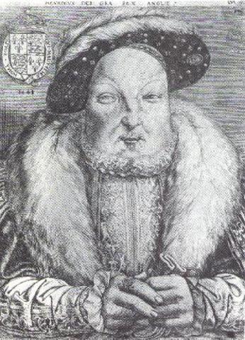 Henry VIII Dies