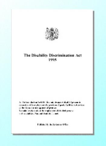 1995 Disability Discrimination Act