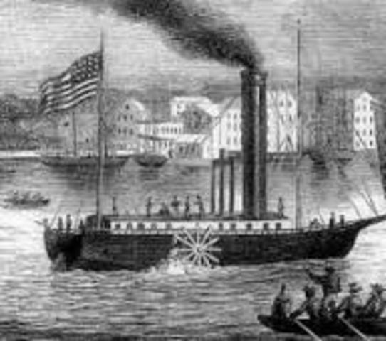 Primera línea de Barcos de Vapor