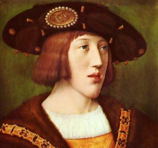 Llegada de Carlos I