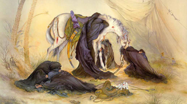 The massacre at Karbala