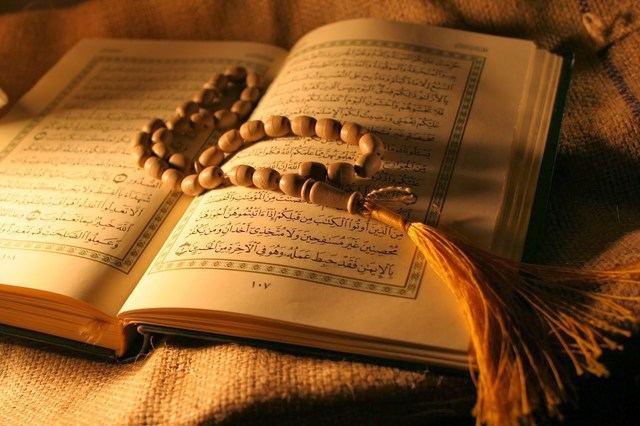 The Quran began compiling