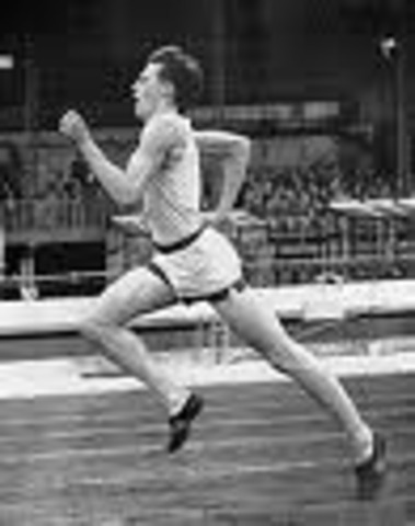 The average speed of Roger Bannister 15