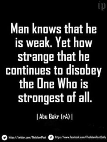 Rise of The First Caliph - Abu Bakr