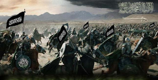 The First Fitna (Islamic Civil War) Occurs