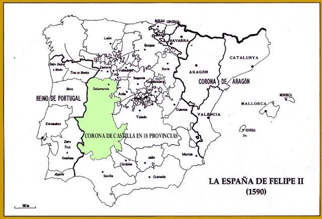 La España del siglo XVI:  El modelo político de los Austrias.  La unión de reinos