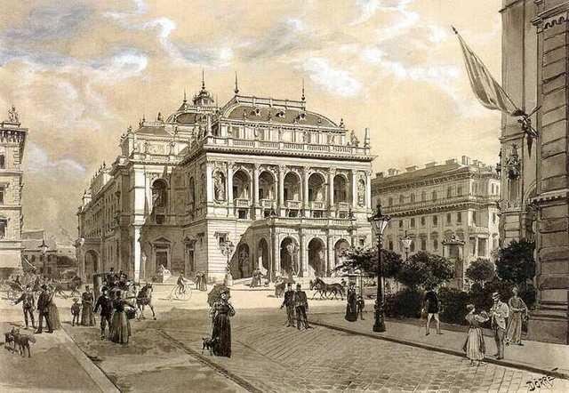 1884-ben a megnyílt Operaház tiszteletbeli főzeneigazgatójává választották.
