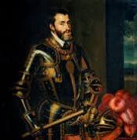 Inicio del reinado de Carlos I