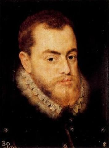 Inicio del reinado de Felipe II