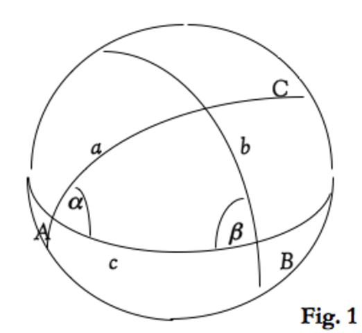 The Book of Unknown Arcs of a Sphere