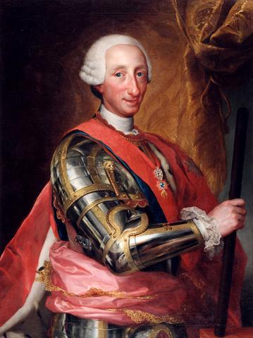 Comienzo del reinado de Carlos III