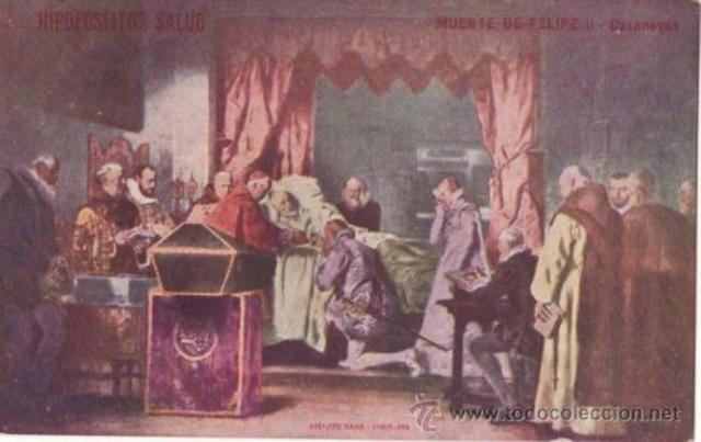 Muerte Felipe II