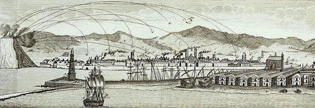 El Bombardeo de Barcelona de 1842