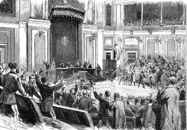 Proclamación de la I Républica