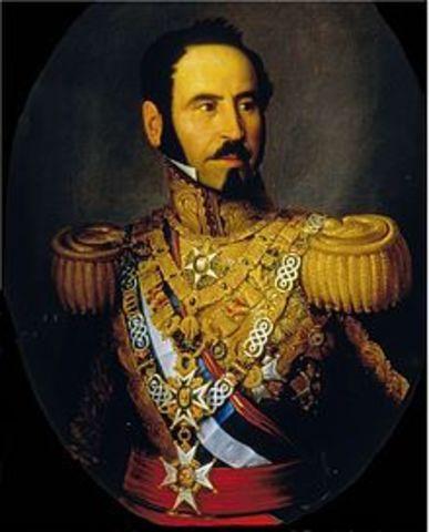 Caída de María Cristina y Regencia de Espartero.