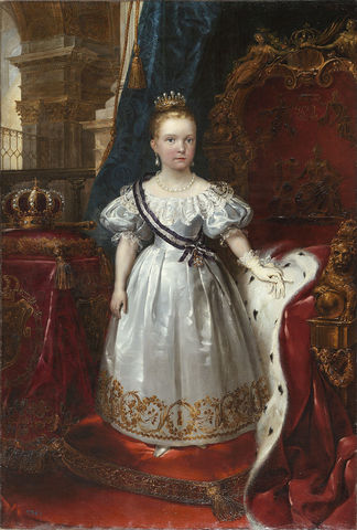 Isabel II declarada mayor de edad.