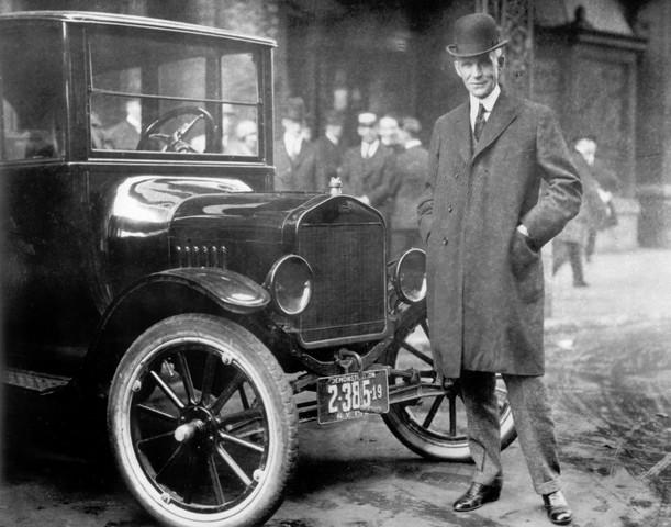 Henry Ford revoluciono la producción de vehículos