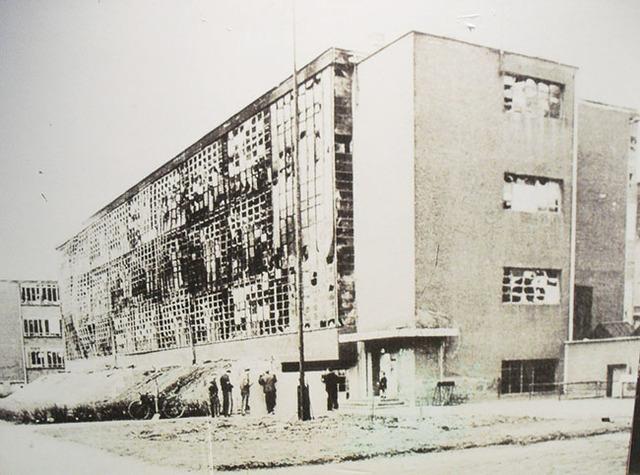 Cierre de Bauhaus