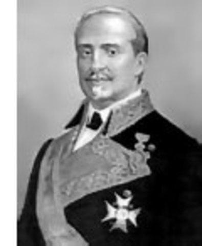 O'Donnell sustituye a Espartero como Jefe de Gobierno.