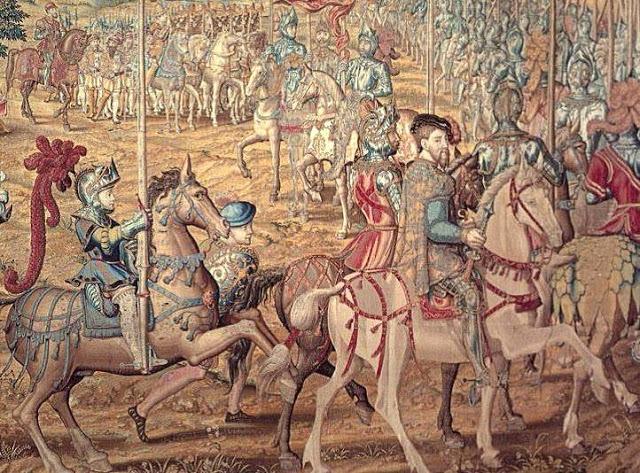 Conquista de Túnez por parte de Carlos V (1535)