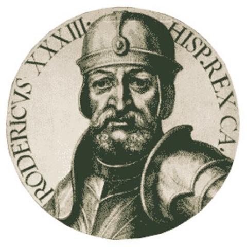 Batalla de Guadalete - Caída del Reino Visigodo