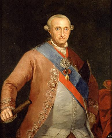 Comienzo del reinado de Carlos IV