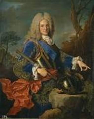 Inicio del reinado de Felipe V