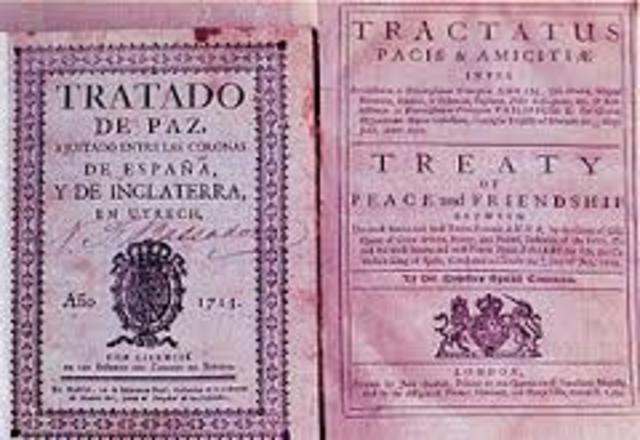 Tratado de Utrecht y Rastadt