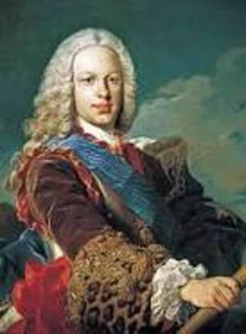 Inicio del reinado de Fernando VI