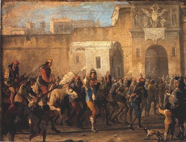 Sublevación en Nápoles