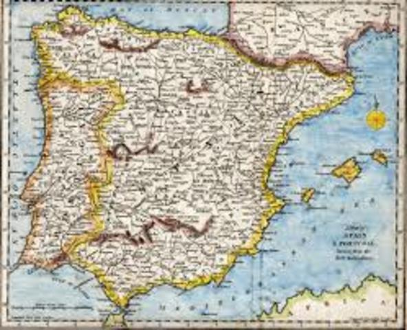 Muslim Umayyad - Invasion In Iberian Peninsula