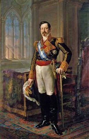 Nuevo gobierno moderado de Narváez.