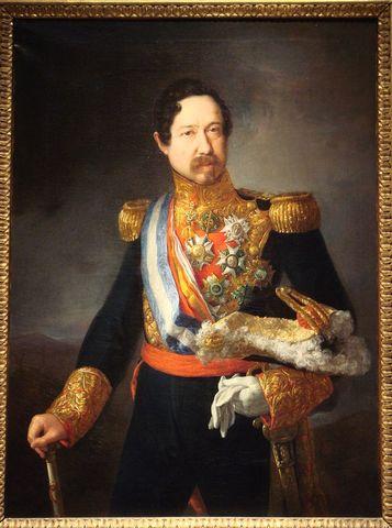 Pronunciamiento del General Narváez.