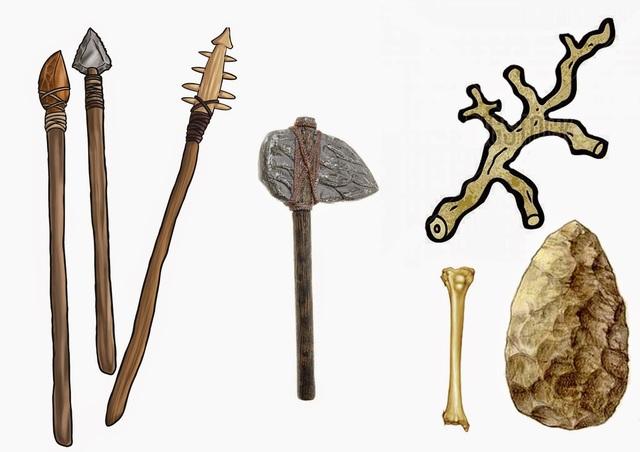 Materiales prehistoricos