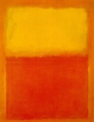 Abstract Expressionism Painting ( Mark Rothko)