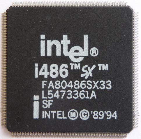 Процессор Intel 80486